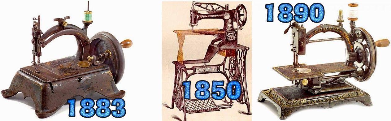 Cuándo y quién inventó la máquina de coser - Valle de Elda
