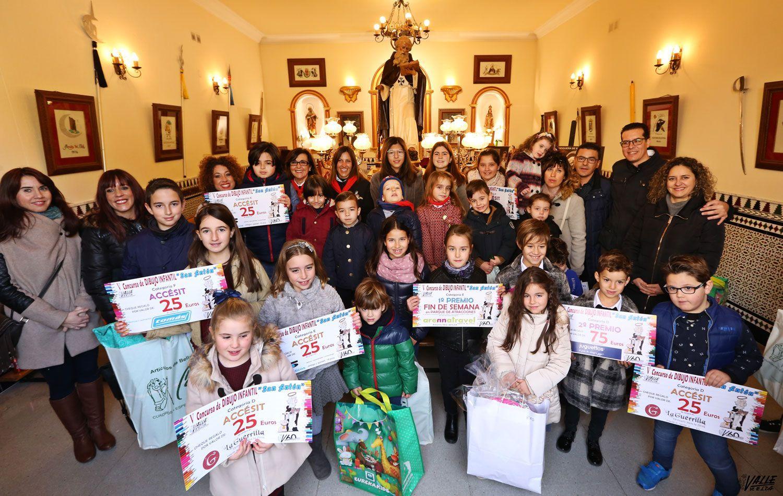 """El 7º Concurso de Dibujo """"Valle de Elda con San Antón"""" distribuirá las láminas en colegios y establecimientos colaboradores - Valle de Elda"""